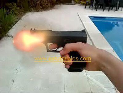 efecto de disparo