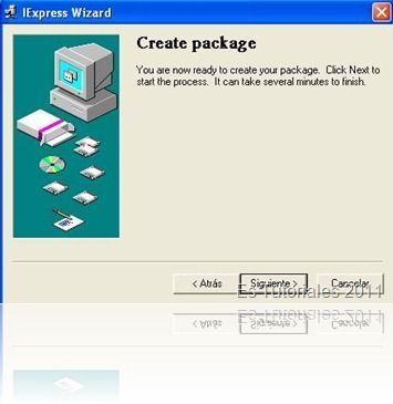 IExpress Create package